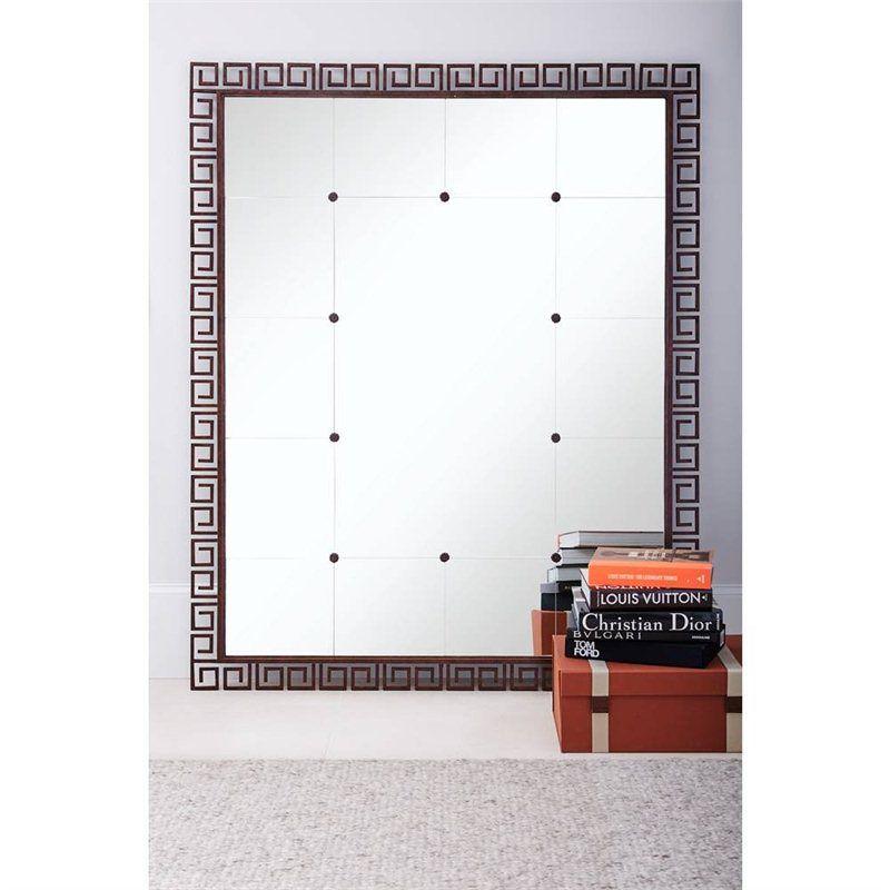 Villa Couture Veronica Floor Mirror In Antique Bronze 510 43 34 Stanley Furniture Floor