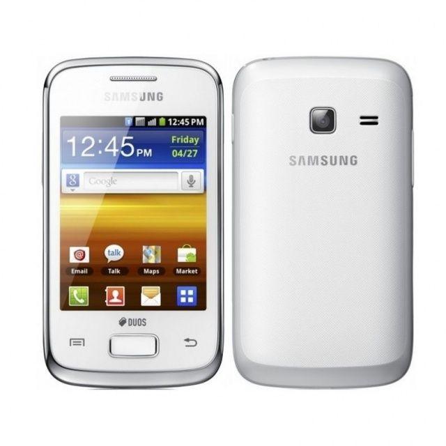 Samsung Galaxy Y Duos libre color blanco. Android + Dual Sim.