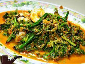 Resep Dan Cara Membuat Tumis Sayur Pakis Resep Masakan Malaysia Makanan Dan Minuman Tumis