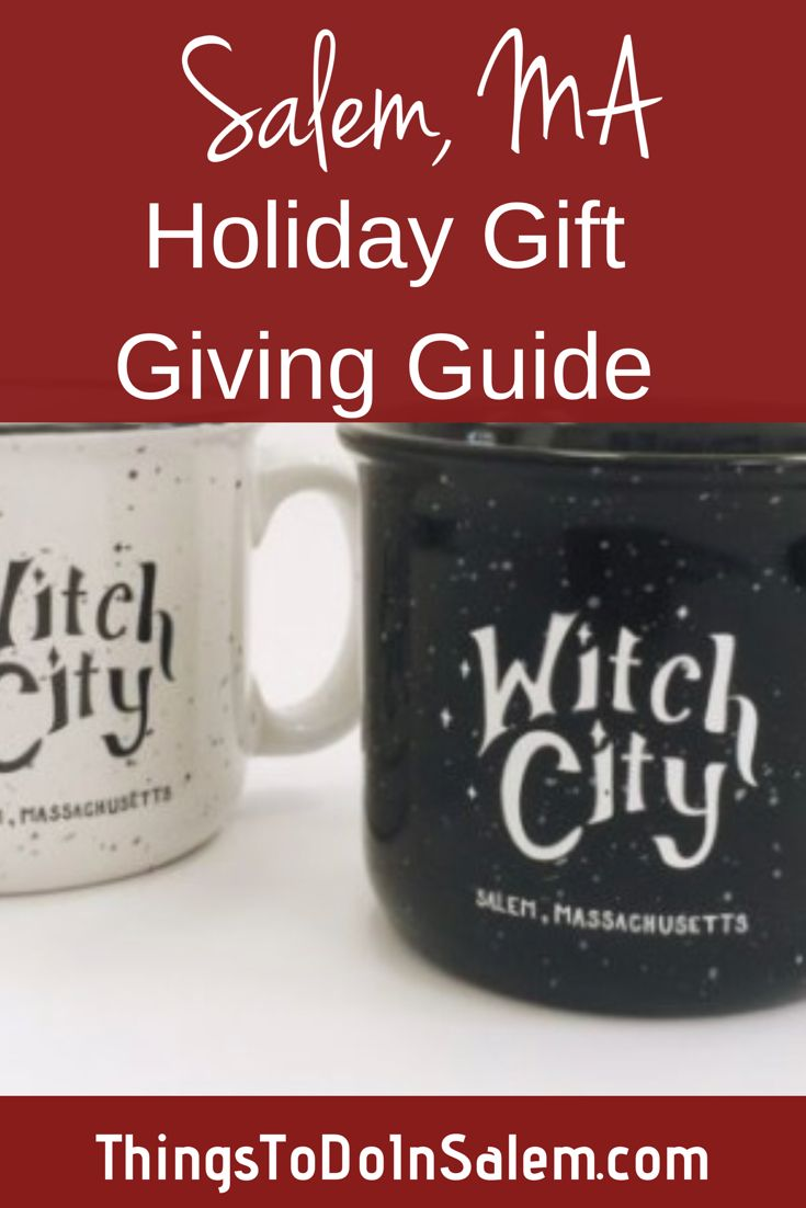 A Salem, MA gift giving guide -- 2018 | Spooky gifts ...