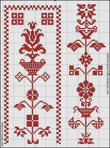 Схема вышивки коловрата
