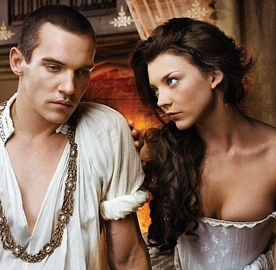 I think Natalie Dormer is so beautiful and smolderingly sexy in The Tudors