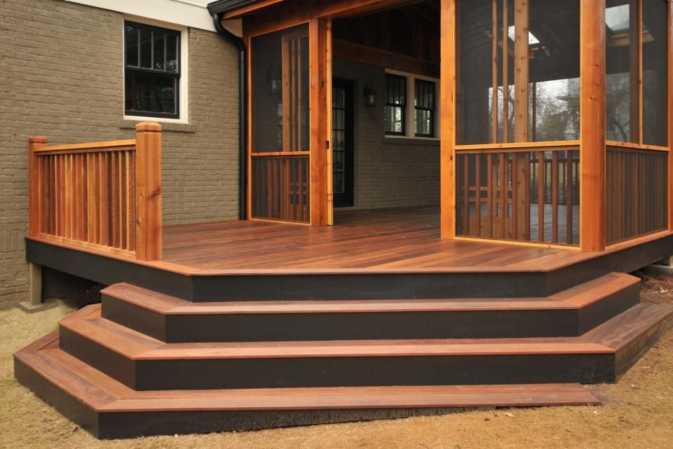 Stair Ideas For Porches Deck Planter Ideas Porch Steps