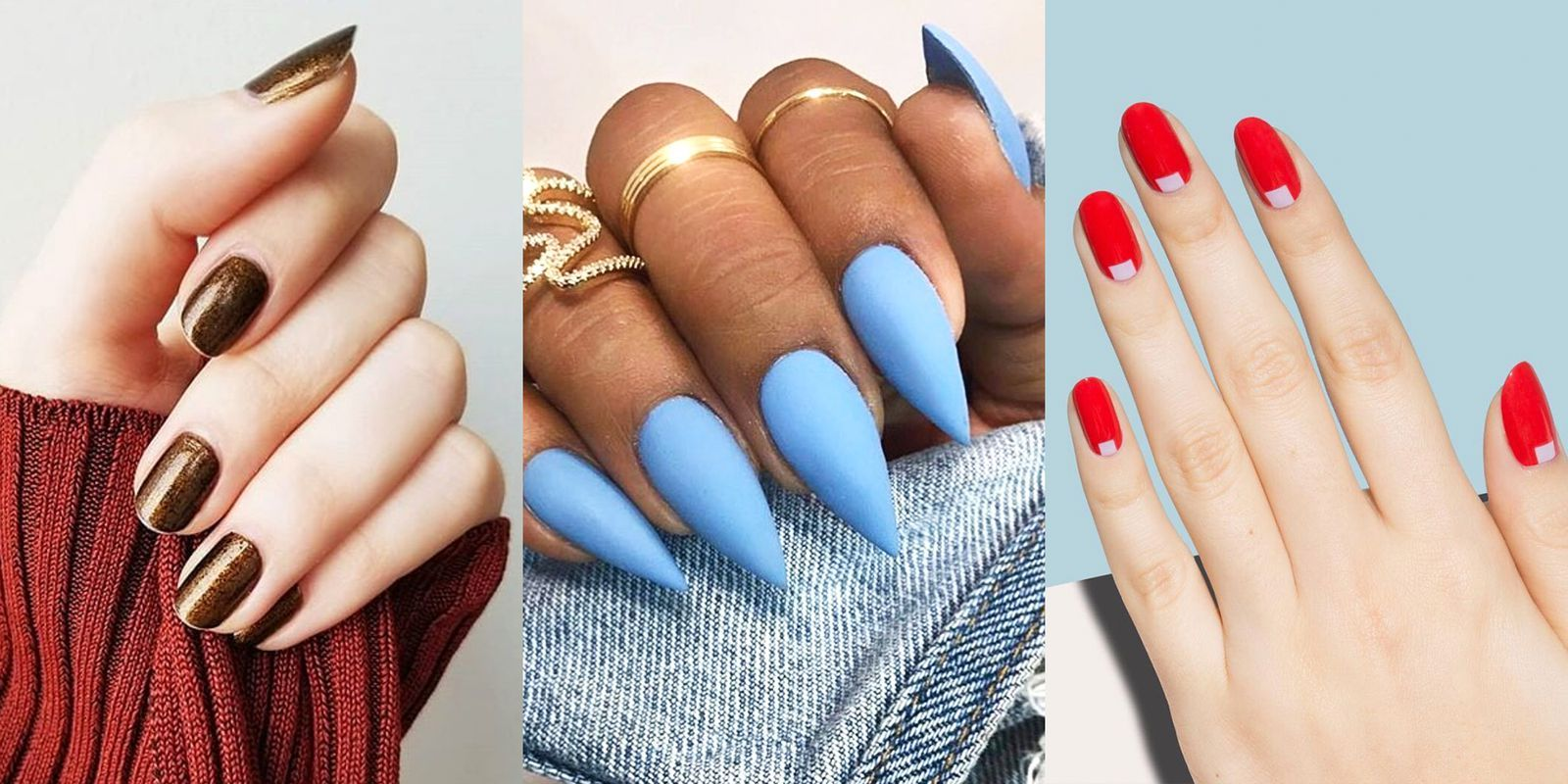 Your Definitive Guide to Every Single Nail Shape to Try