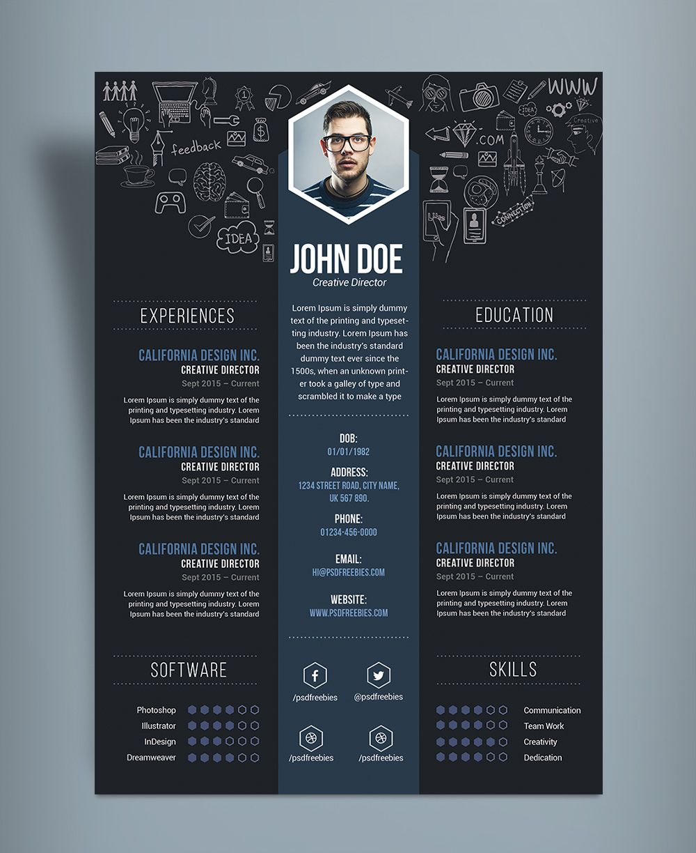 image result for creative resume