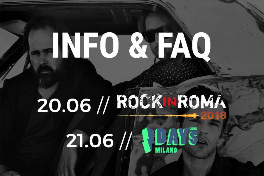 Concerti in Italia // Info & FAQ