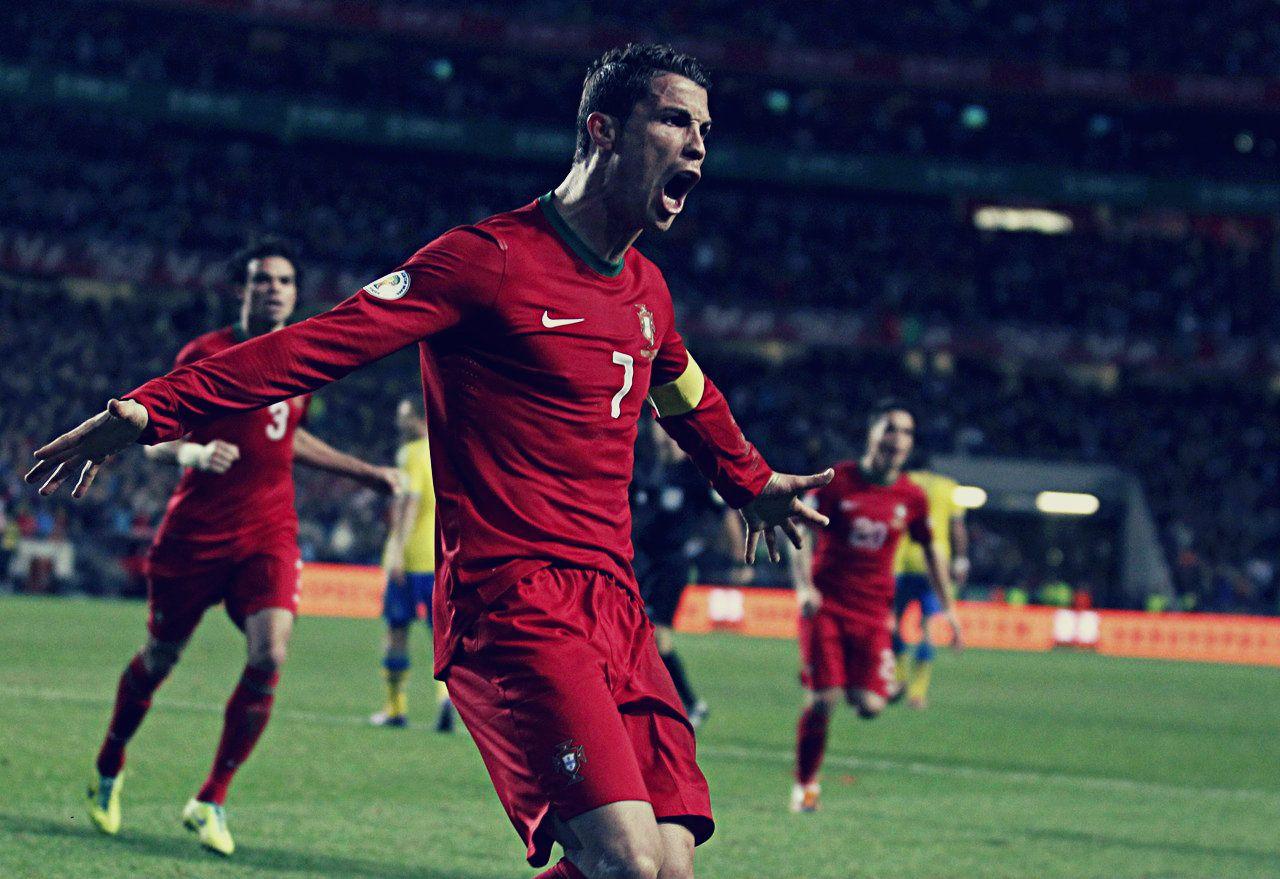 Portugal 10 Sweden, 15112013. Cristiano Ronaldo