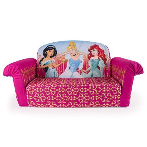Marshmallow Furniture Flip Open Sofa Disney Princess Click on