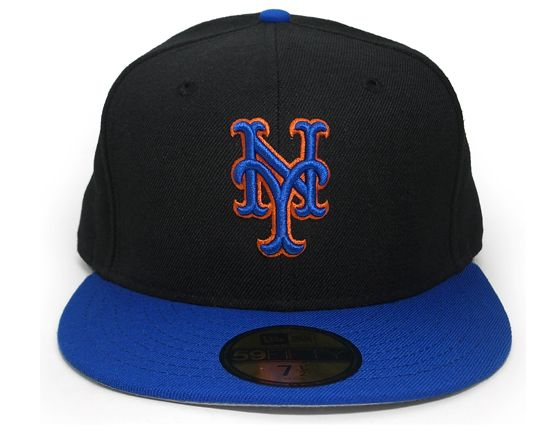 New York Mets 1999 2006 Old Authentic 59fifty Fitted Baseball Cap By New Era X Mlb Fitted Baseball Caps Baseball Cap New York Mets