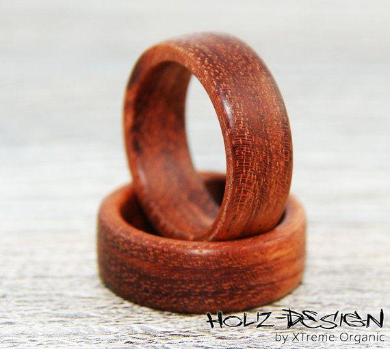 Bobinga Holz Partnerringe Ring Fingerring Aus Von Xtremeorganic 33 90 Wooden Rings Wooden Jewelry Wood Turning Projects