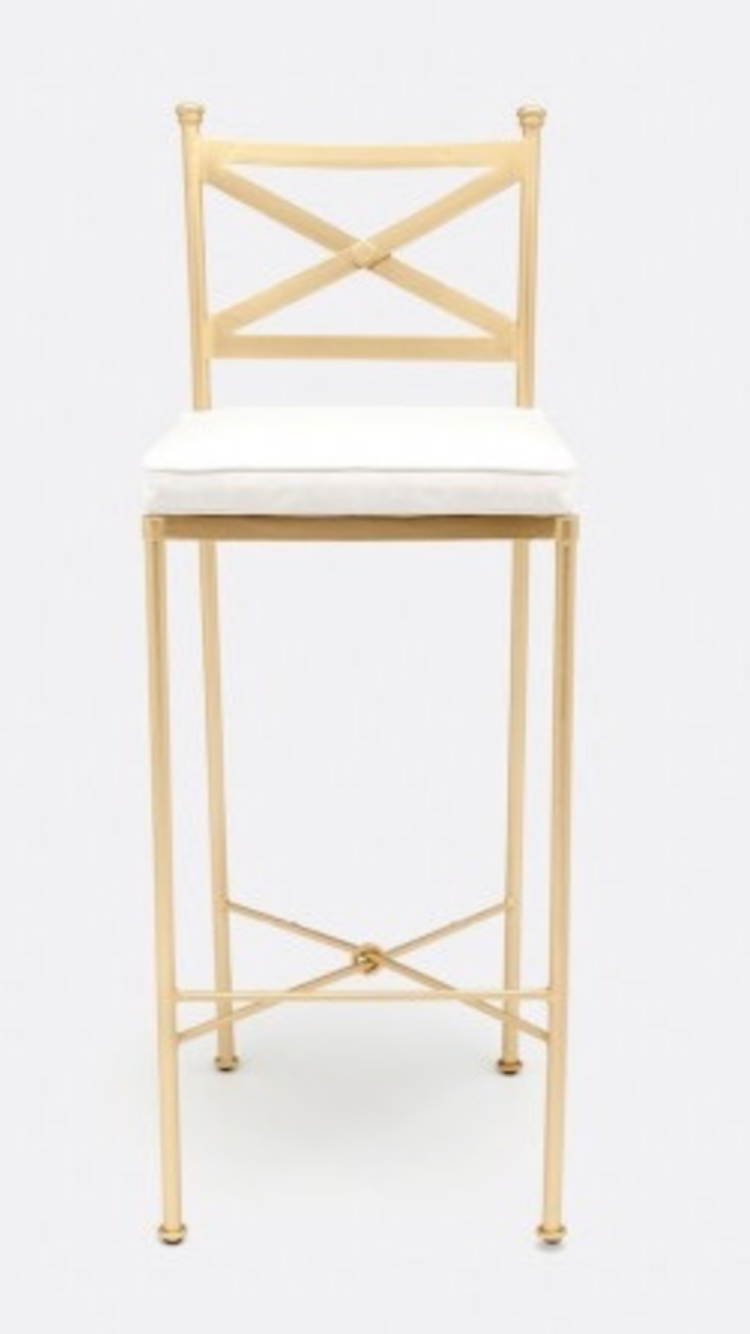 Gold barstool stools for kitchen island kitchen chairs counter stools gold bar stools
