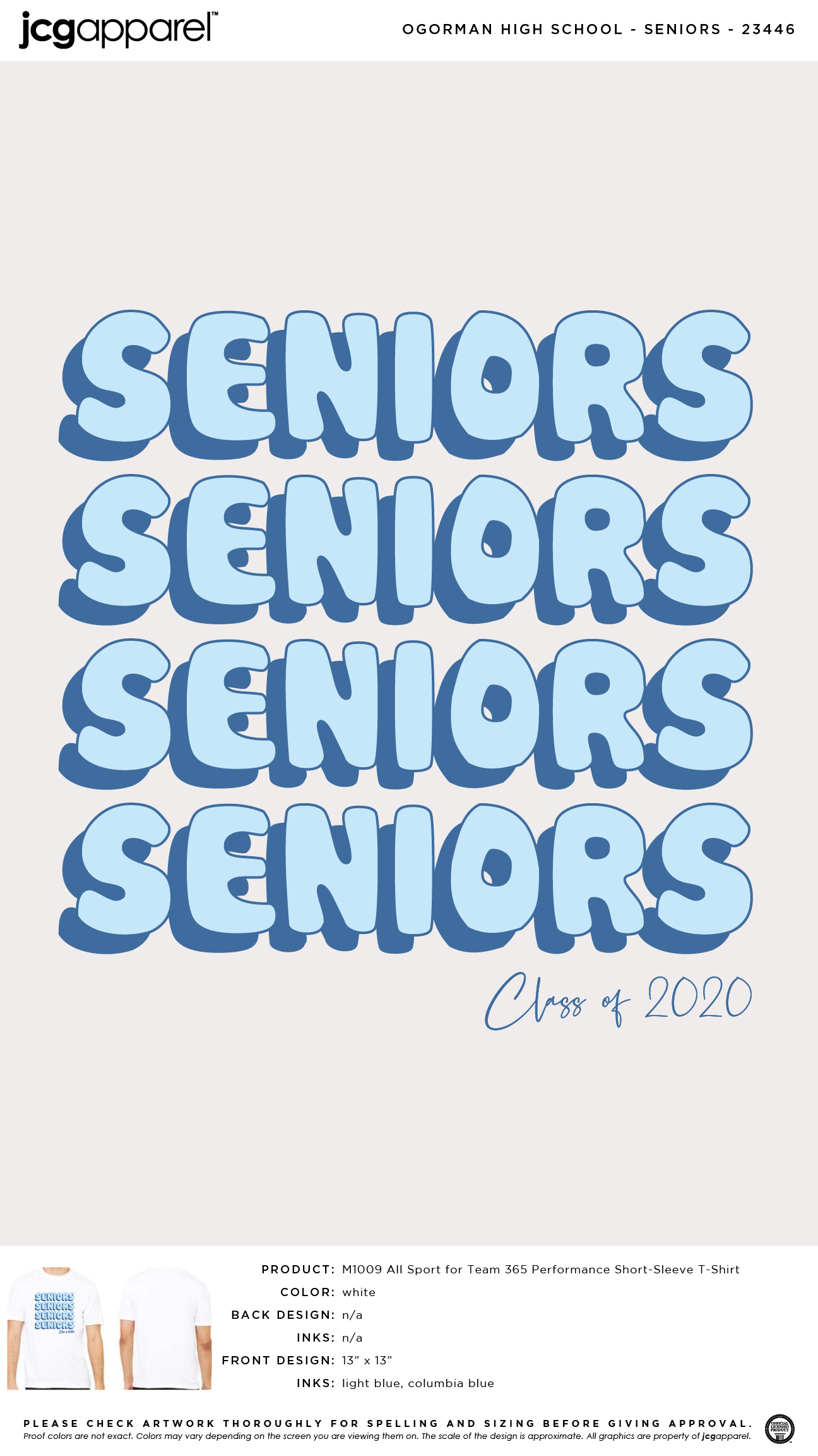 High School Senior Shirts #seniors #repeat #letters #bold #design