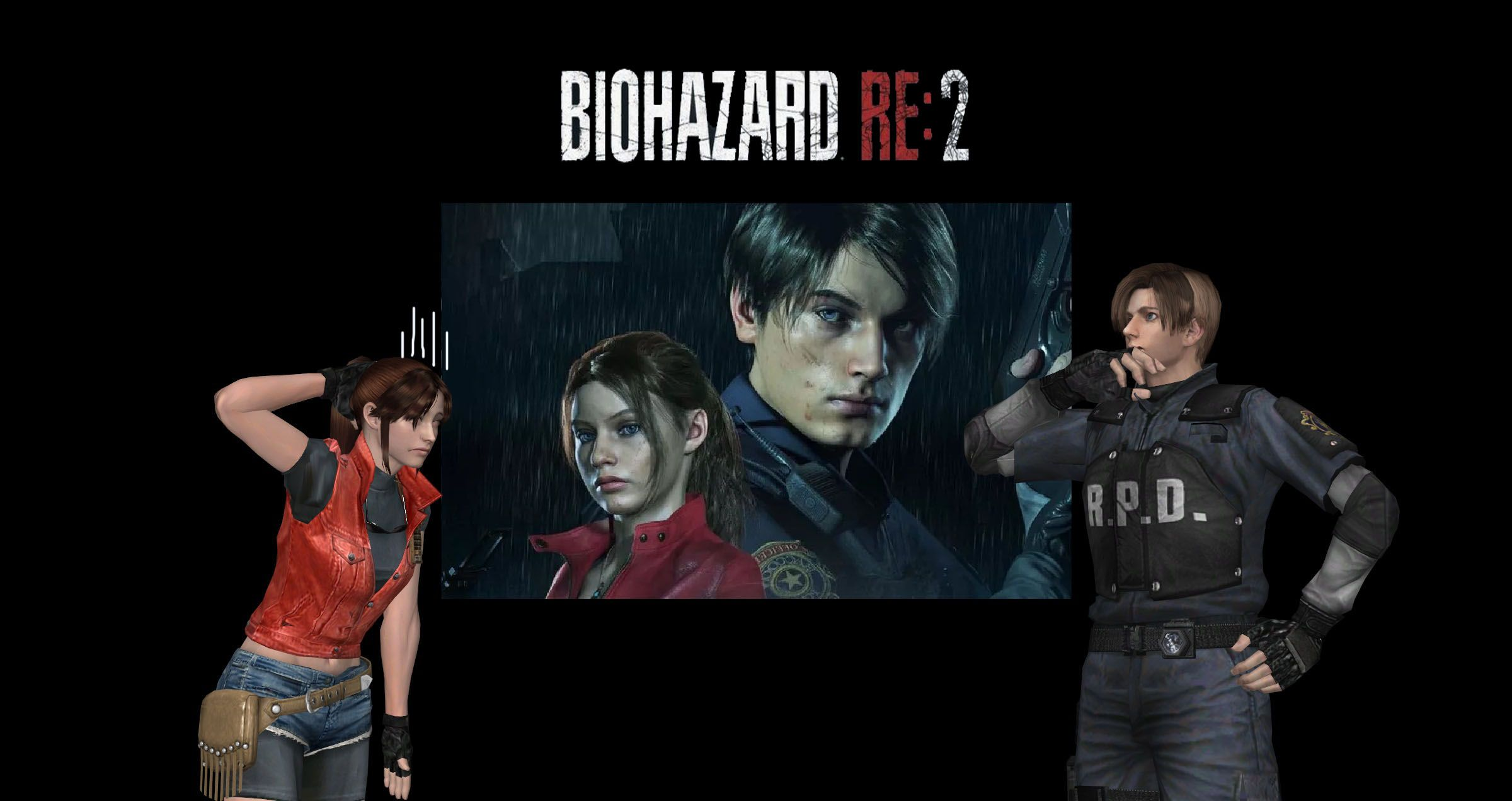 Leon Seems To Be Happy With His Appearance In The Re2 Remake