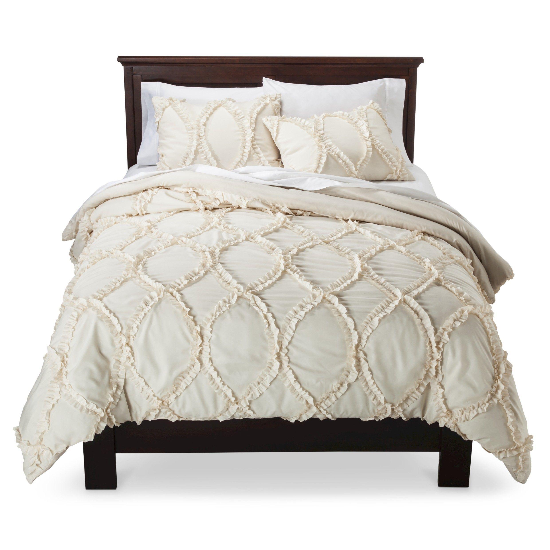 Lush Decor© Avon Ogee Texture 3 Piece Comforter Set : Target