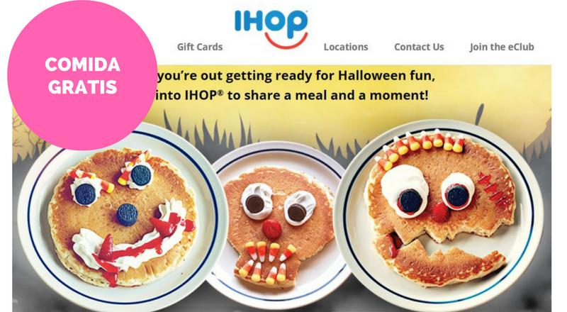 GRATIS panqueque para los Niños en IHOP el 31 de Octubre – Súper Baratísimo o Gratis