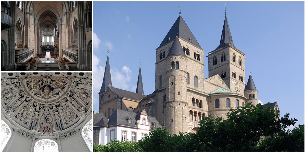 The Cathedral of Trier is the oldest cathedral in Germany