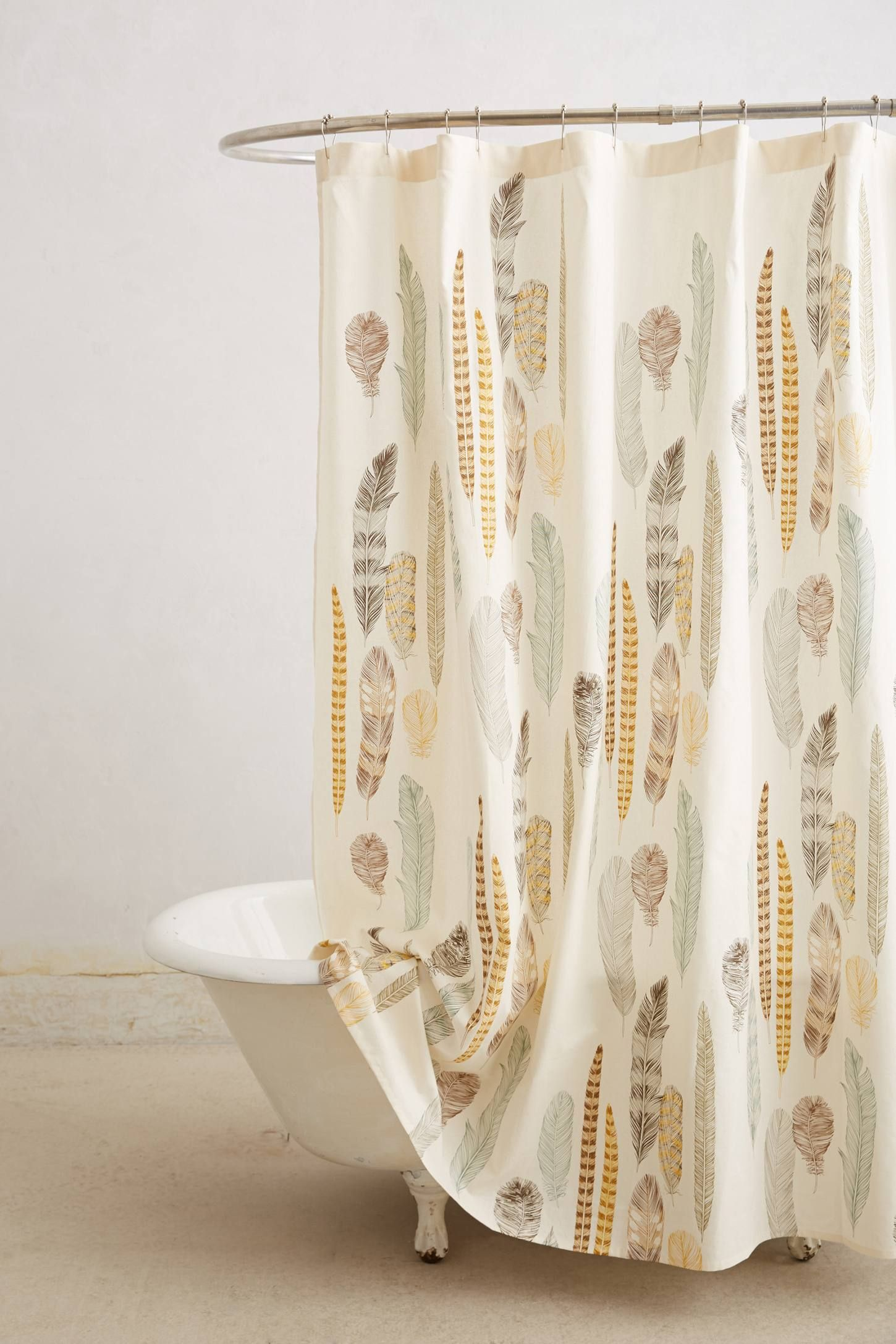 Shower curtain liner pinterest quill bath and house