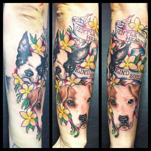 Pin By Analisa Six On Dog Tattoos Boston Terrier Tattoo Dog