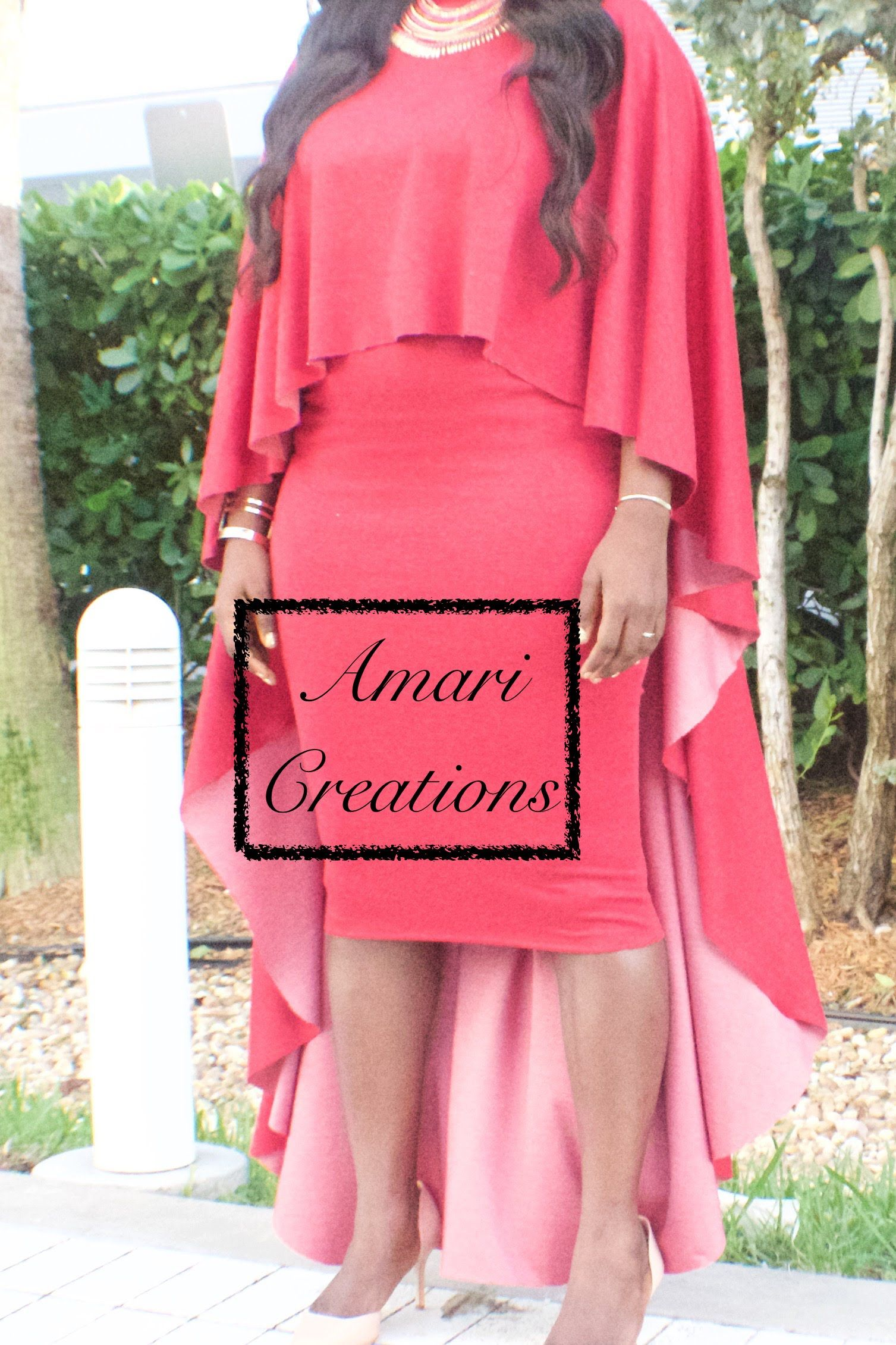 How To Make A High Low Cape In 5 Minutes Or Less Dress
