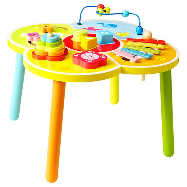 Young Ones Wooden Activity Table Target Australia Activity Table Baby Activity Toys Function Tables