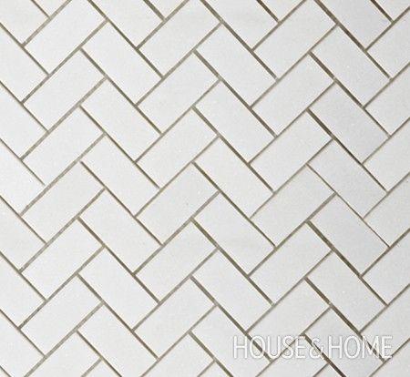 Photo Gallery Trendy Tile Picks Grey Grout Herringbone