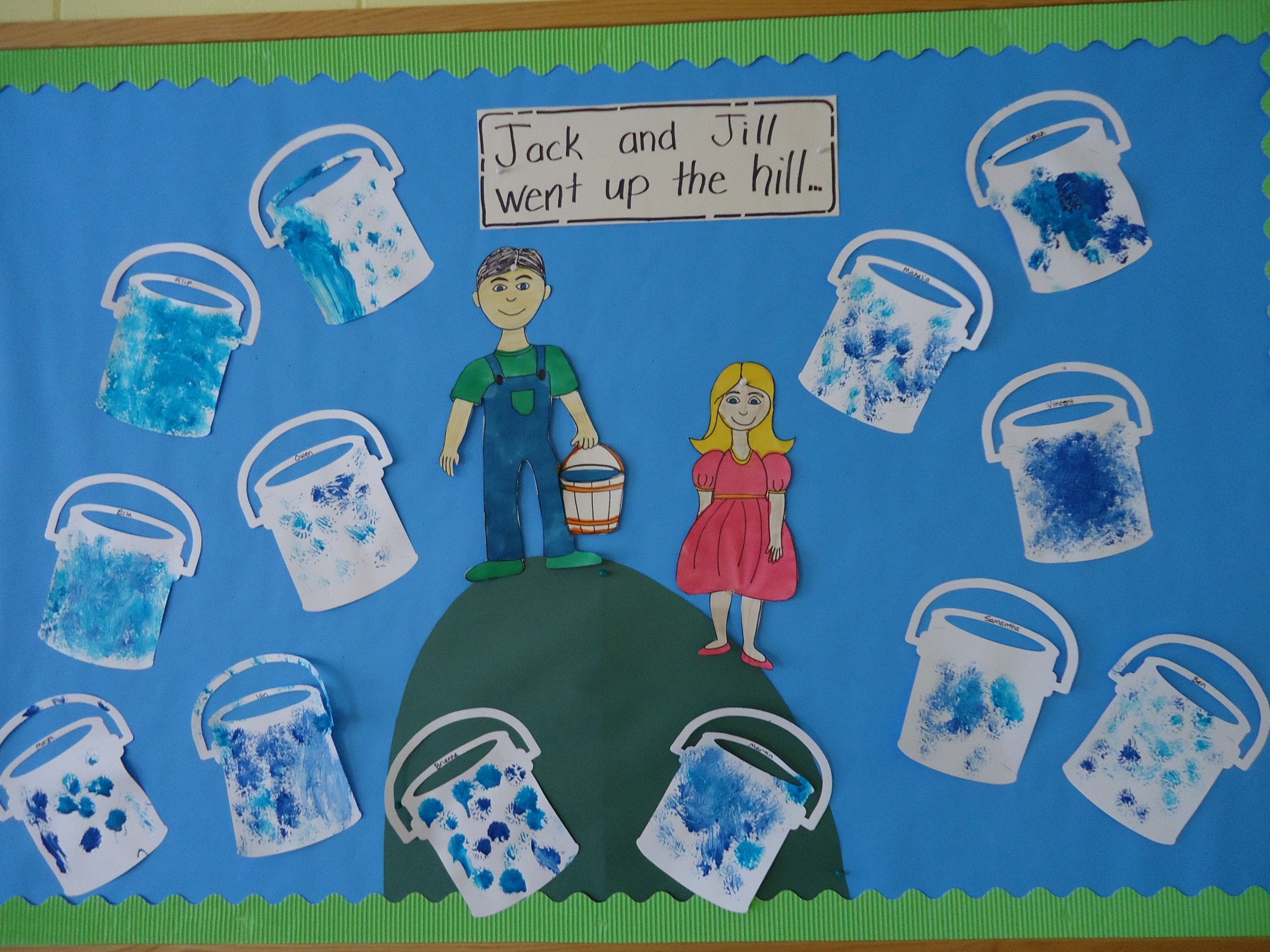 Nursery Rhyme Unit Jack And Jill Bulletin Board