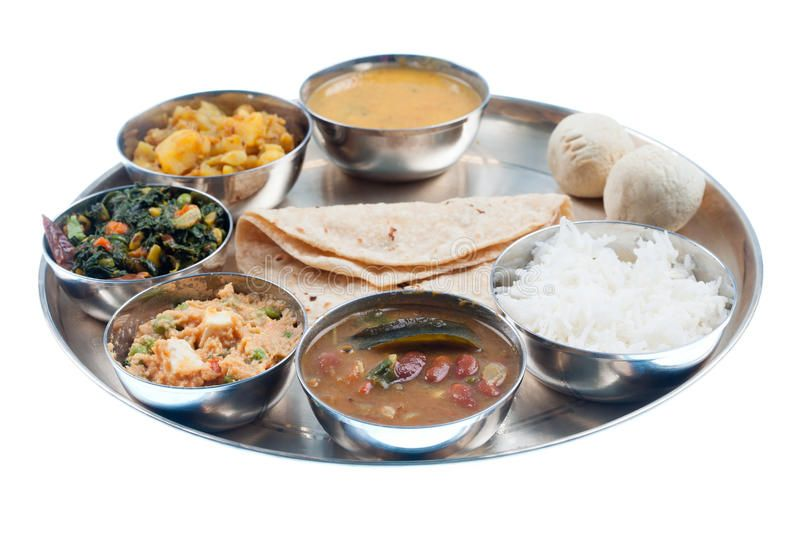 Traditional Indian Dinner Plate Isolated White Aff Dinner Indian Traditional White Isolated Ad Navratri Recipes Food Special Recipes