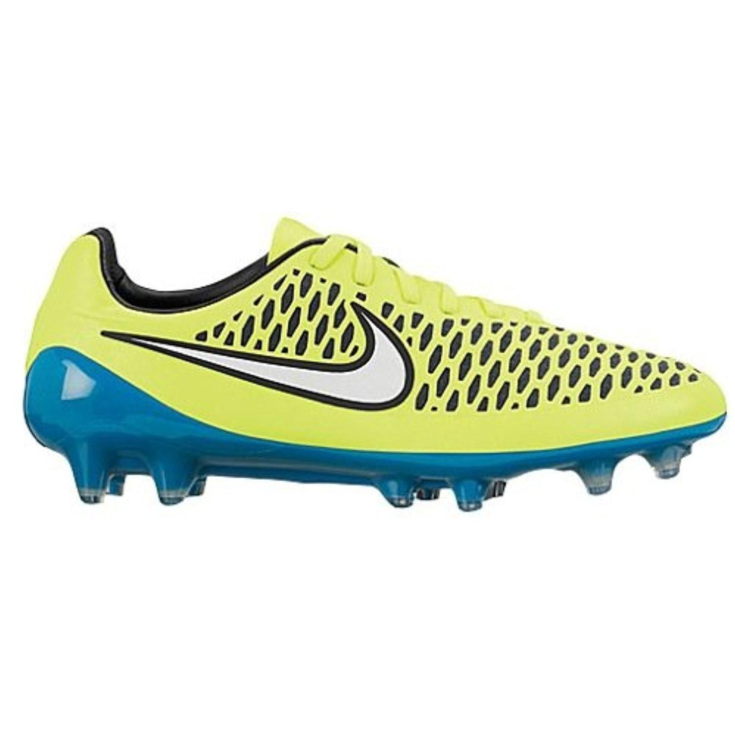 Explore Womens Soccer Cleats, Nike Women and more! NIKE WOMENS MAGISTA OPUS  FG - (VOLT/WHITE-BLUE LAGOON-BLACK)