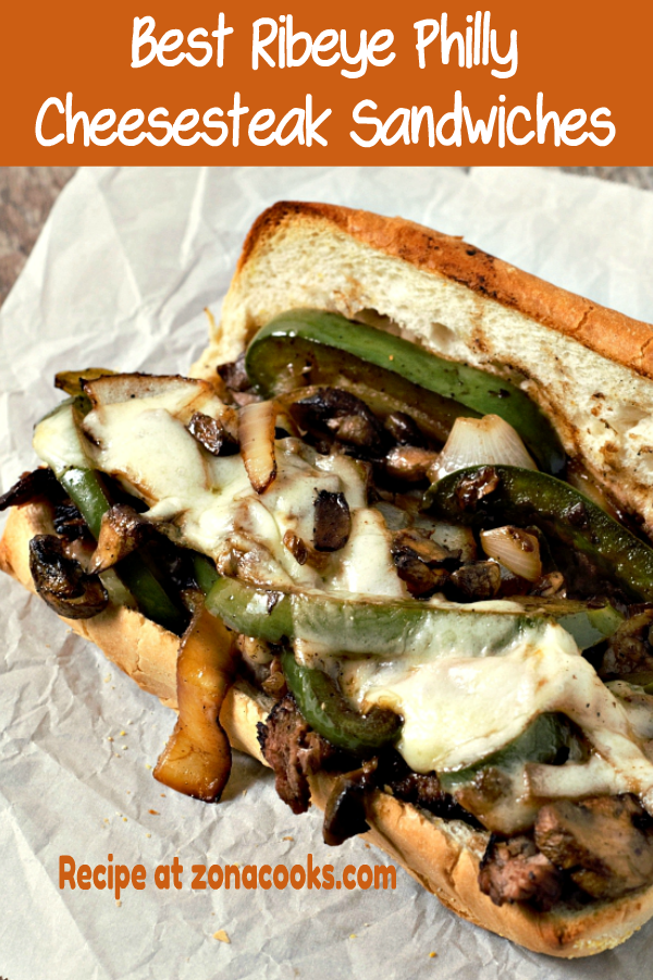 Best Ribeye Philly Cheesesteak Sandwiches
