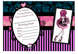 Come and join us for serenitys 9th birthday party for lots of fun see you there address 1122 west bowie alamo tx monster high invite free printable bookmarktalkfo Choice Image