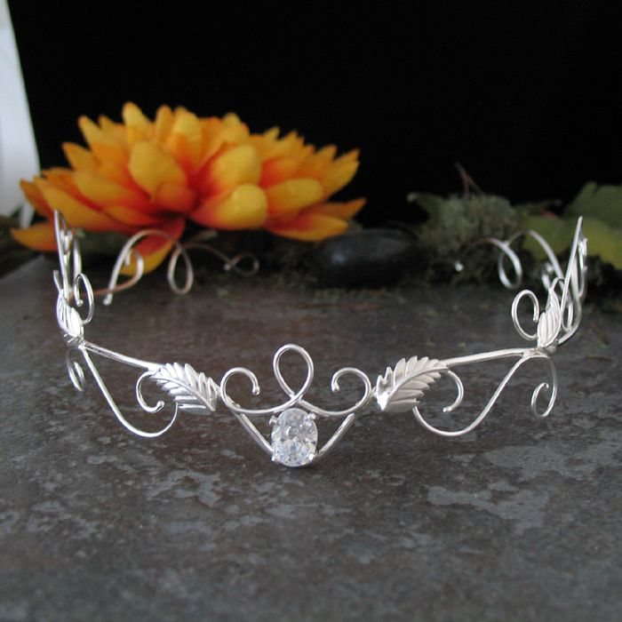 Elven Circlets, Elven Headpieces, Middle Earth Wedding, Wedding Circlets, Bridal Circlets, Lord of the Rings Headpieces, Galadriel Circlet, Diadems at Camias Jewelry Designs