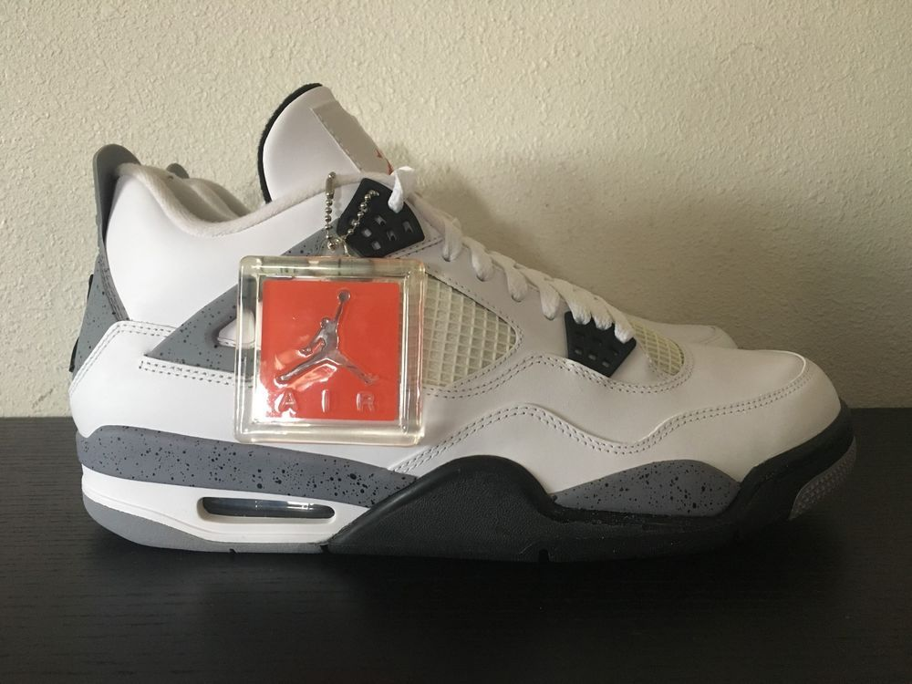 fd22ad55a2db Nike Air Jordan 4 IV White Cement 11.5 DS New in Box 2012  fashion  clothing   shoes  accessories  mensshoes  athleticshoes (ebay link)