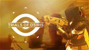 Destiny - Trials of Osiris Hunter Wallpaper by OverwatchGraphics