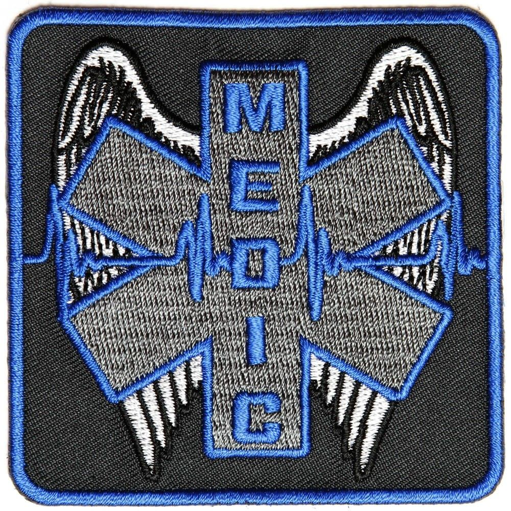 EMS EMT Star of Life Paramedic Medical Morale Tactical Army Gear Sew Iron on Patch