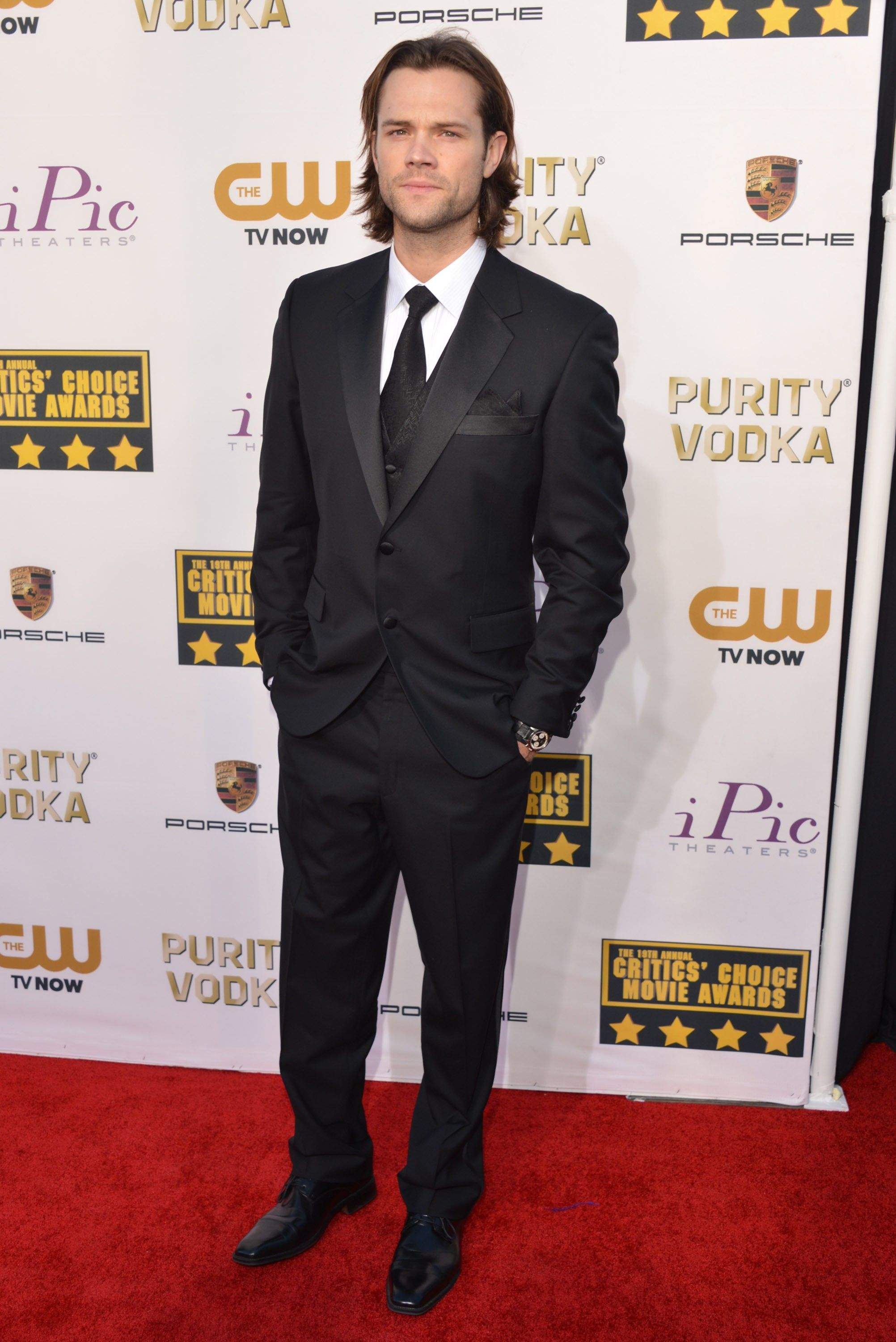 jared padalecki,Critics Choice Awards 2014