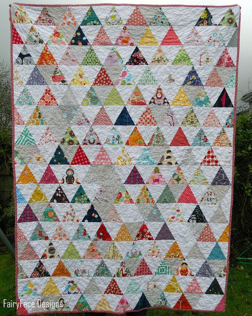Pyramid Quilt 1 Quilt Sewing Patterns How To Finish A Quilt Easy Quilts