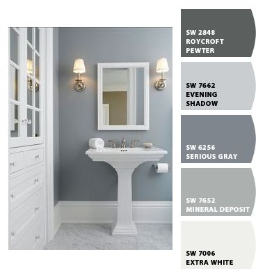 Paint colors from colorsnap by sherwin williams paint for Sherwin williams bathroom paint colors