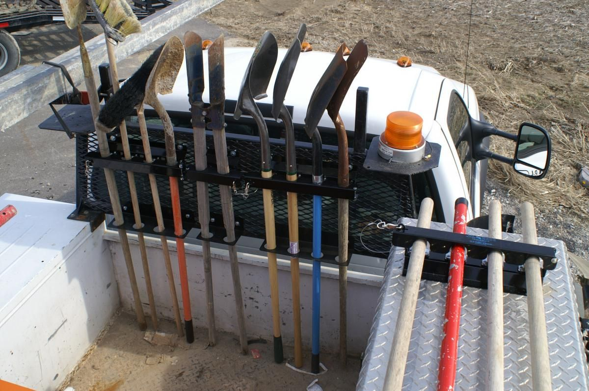 shovel tool holder - shovels brooms