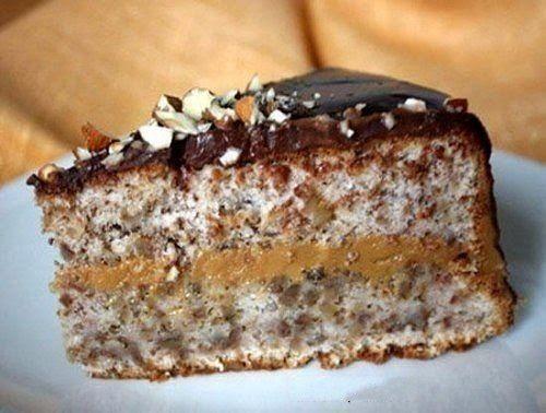 Вкусные ореховые торты