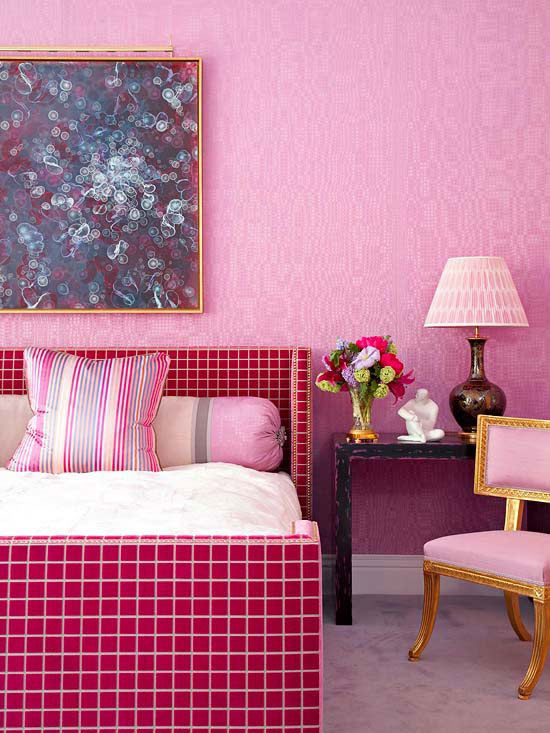 Drench Your Home in Color: Single-Hue Spaces | Pink outfits, Pink ...