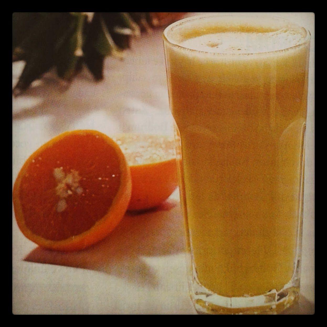 Portakallı Ananaslı Smoothie