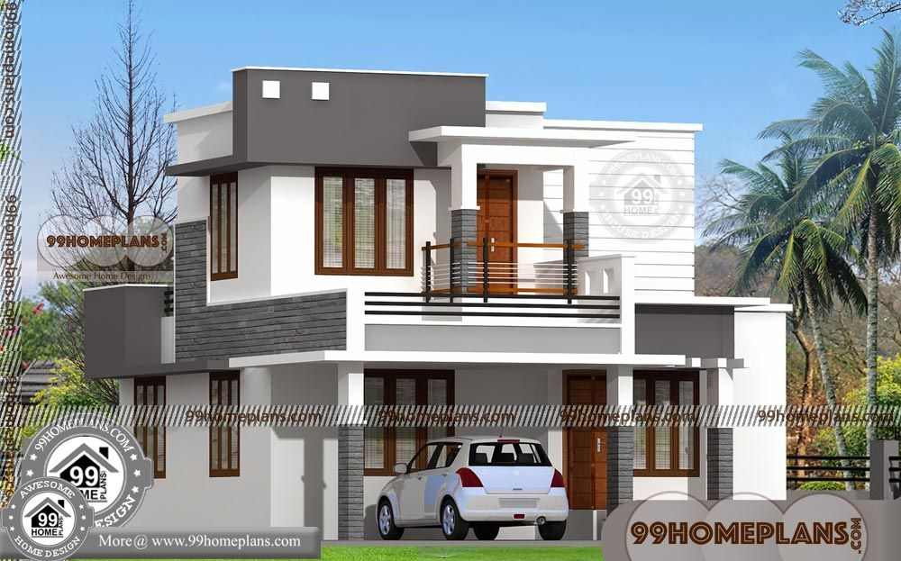 Indian Style Duplex House Plans With 3d Elevations Best 2 Storey Low Budget Homes 1 Bedroom At Duplex House Design Simple House Design Duplex House Plans