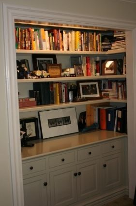 Planning On Doing Something Very Similar But Putting In A File Cabinet At The Bottom And Knocking Out Walls Surrounding Closet Opening Completely