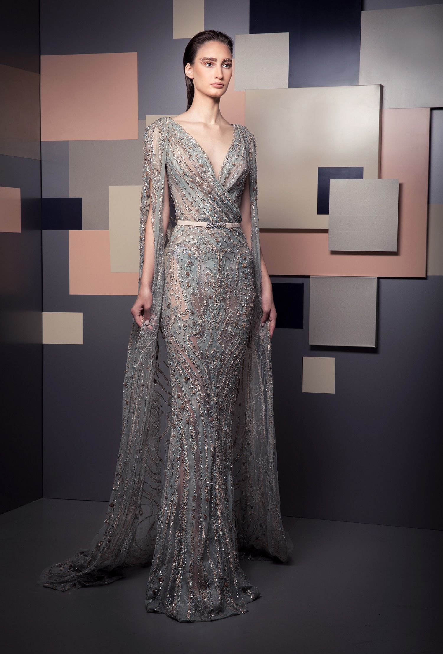 Ziad Nakad Spring 2019 Gala Dresses Event Dresses Evening Dresses