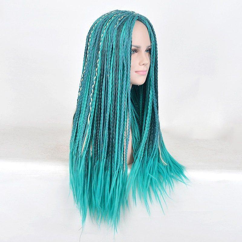 Uma Wig Costume Accessory Teal