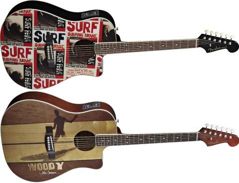 3 Fender Acoustic Guitar John Severson Surf Fever Woody 3 Best Acoustic Guitar Guitar Fender Acoustic Guitar