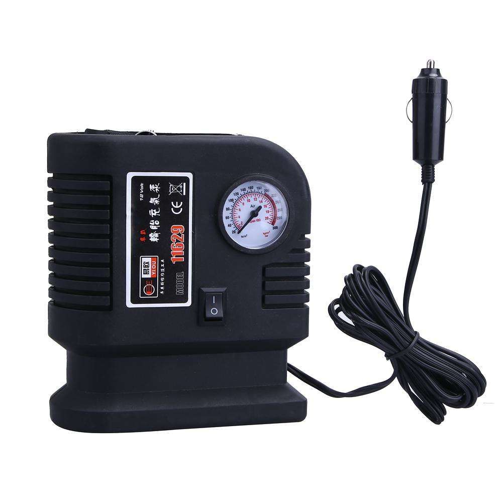 Air compressor portable pump 300psi auto car suv tire 12v