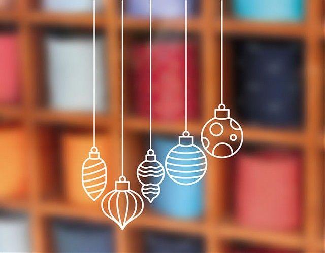 Decoraci n navide a con vinilos bolas de navidad 04086 - Bolas de decoracion ...