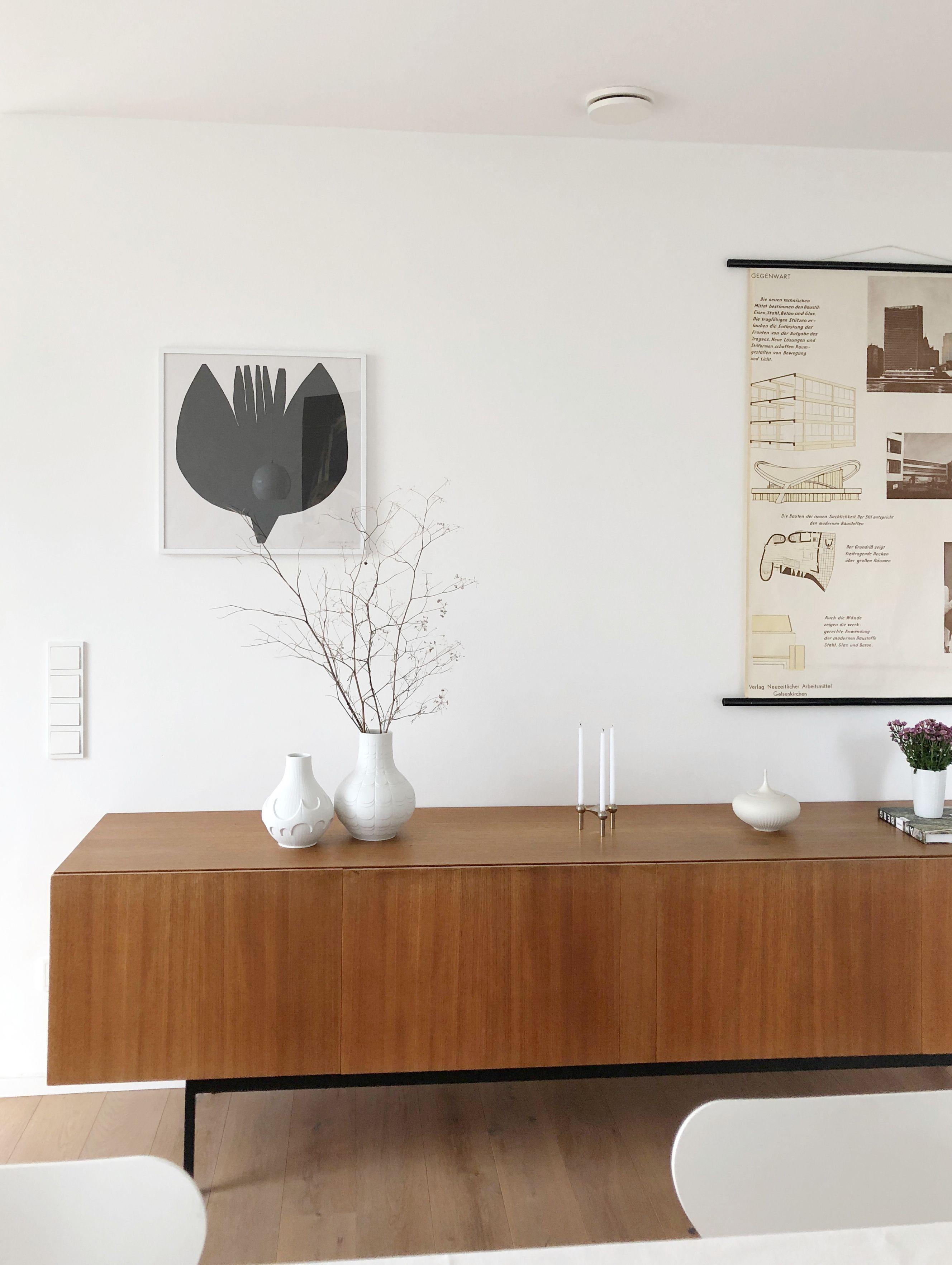In My Home In Love With Vintage Furniture And Porcelain Sideboard Dieter Waeckerlin I Photo Sabine Wittig Nachhaltiges Design Tischdekoration Zuhause
