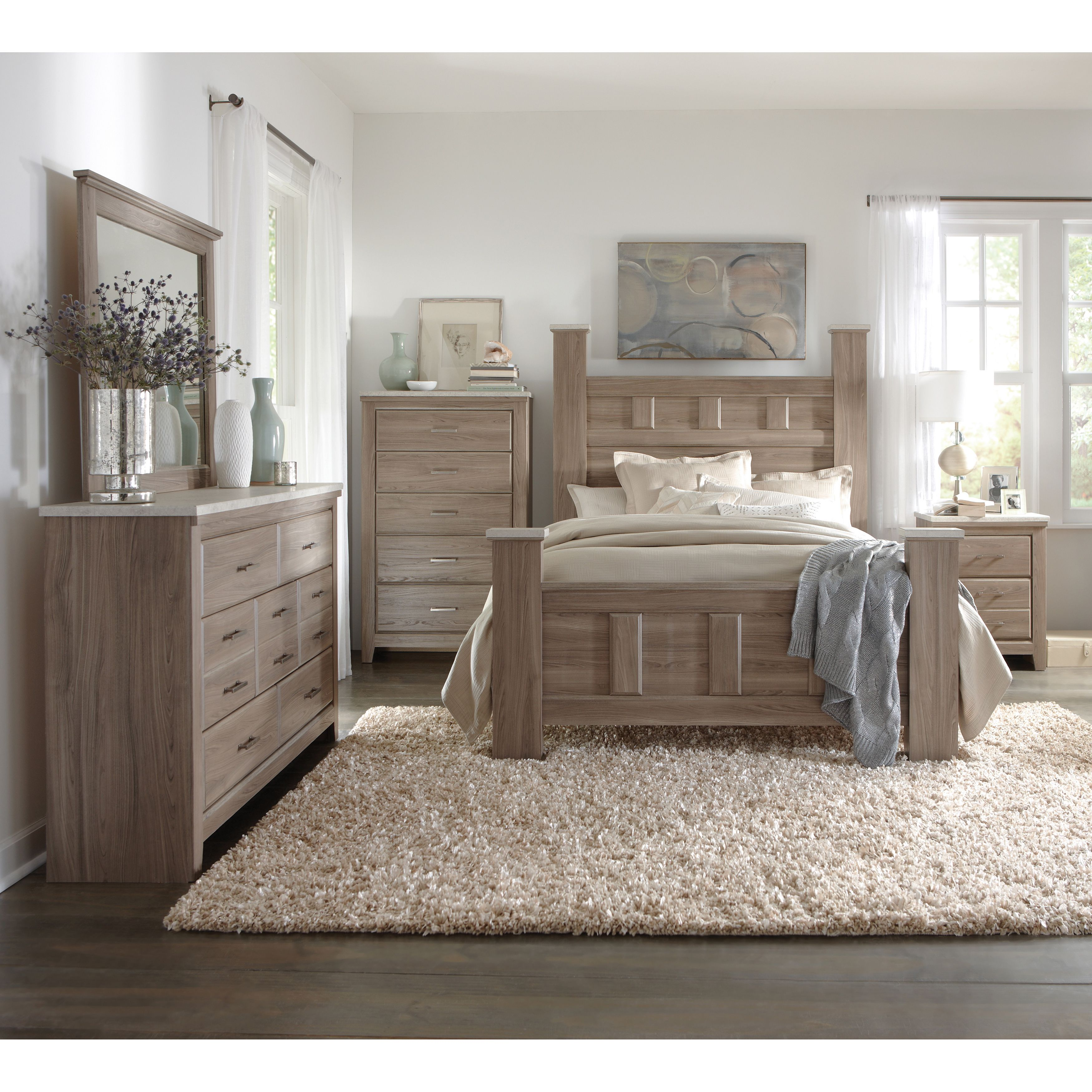 Art Van 6-piece Queen Bedroom Set - Overstock Shopping - Big ...